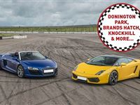 Double Supercar Driving Thrill at a Top UK Race Track Experience Day