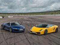 Double Supercar Thrill with Free High Speed Passenger Ride - Week Round Experience Day