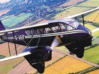Dragon Rapide Flight over Cambridge Ely  Newmarket