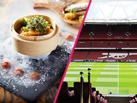 Emirates Stadium Tour with Three Course Meal and Cocktails for Two at Shaka Zulu Experience Day