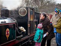 Family Steam Train Ride with Afternoon Tea at Kirklees Light Railway