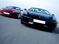 Ferrari and Aston Martin Driving Thrill with Passenger Ride