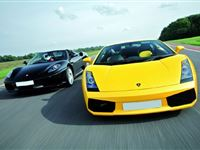 Ferrari and Lamborghini Driving Thrill with Passenger Ride