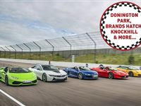 Five Supercar Driving Thrill at a Top UK Race Track Experience Day