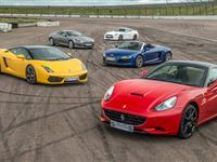 Five Supercar Thrill with Free High Speed Passenger Ride - Special Offer Experience Day