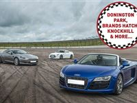 Four Supercar Driving Blast at a Top UK Race Track Experience Day