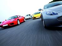 Four Supercar Driving Thrill with Passenger Ride Experience Day