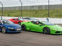 Four Supercar Thrill with Free High Speed Passenger Ride - Special Offer Experience Day