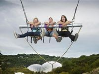 Hangloose at The Eden Project - Zip Wire Giant Swing and Big Air and The Drop