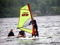 Introduction to Windsurfing for Two in Gwynedd Half Day