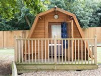 One Night Glamping Break at Lee Valley Campsite Sewardstone