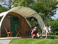 One Night Glamping Break at The Old Oaks Touring Park Midweek