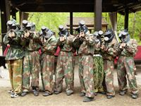 Paintball Entrance for Eight