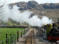 Private Hire of Eskdale Belle or Ratty Coaches for Four