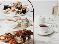 Spanish Afternoon Tea for Two with a Bottle of Prosecco at May Fair Kitchen Experience Day