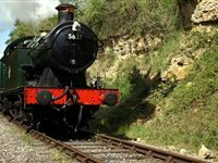 Steam Railway Day Rover Tickets for Two on the East Somerset Railway