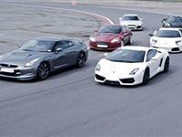 Supercar Drive with High Speed Passenger Ride Experience Day