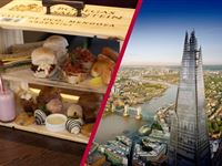 The View from The Shard and Afternoon Tea at Marco Pierre Whites New York Italian Experience Day