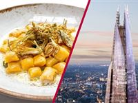 The View from The Shard with 3 Course Michelin Dining and Bubbles for Two Experience Day