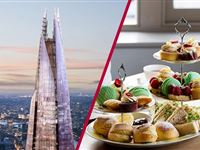 The View from The Shard with Luxury Afternoon Tea for Two Experience Day