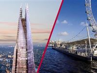 The View from The Shard with Thames Sightseeing Cruise for Two - Special Offer Experience Day