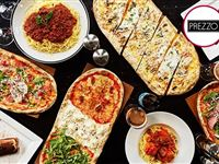 Three Course Meal with Bottle of Wine for Two at Prezzo Experience Day