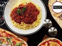 Three Course Meal with Glass of Wine for Two at Prezzo Experience Day