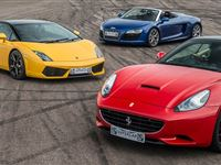 Triple Supercar Driving Blast with Free High Speed Passenger Ride - Special Offer Experience Day