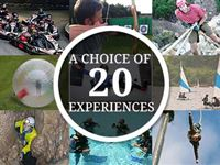 Ultimate Choice for Action  Adventure for Two - Gift Experience Voucher