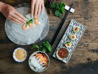 Vietnamese Four Course Meal with Wine for Two at Pho  Bun - Special Offer Experience Day