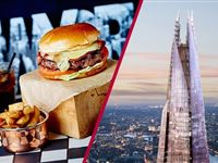 View From The Shard and Dinner with Fizz at Marco Pierre Whites New York Italian Experience Day